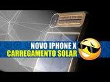 NOVO IPHONE X CARREGAMENTO LUZ SOLAR
