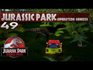 Jurassic Park: Operation Genesis - Episode 49 - Pictures and Paths (for reals)