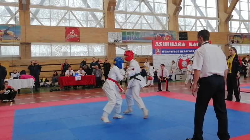 Дима Кузнецов 1 бой