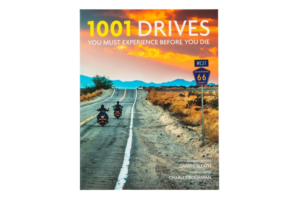 Дэррил Слит: книга «1001 Drives You Must Experience Before You Die»