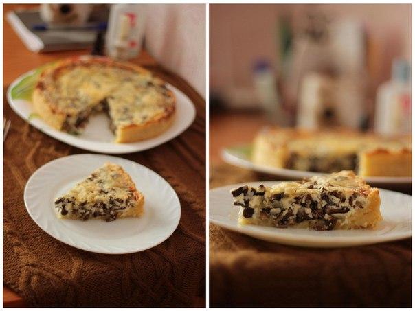 Пирог-жульен с грибами (6 фото)