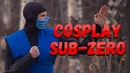 Костюм саб зиро своими руками. Mortal Kombat cosplay sub-zero. Как сделать маску