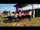 танец с тканями Радуга над Радваничами