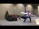 Ray Park in Slow motion 2