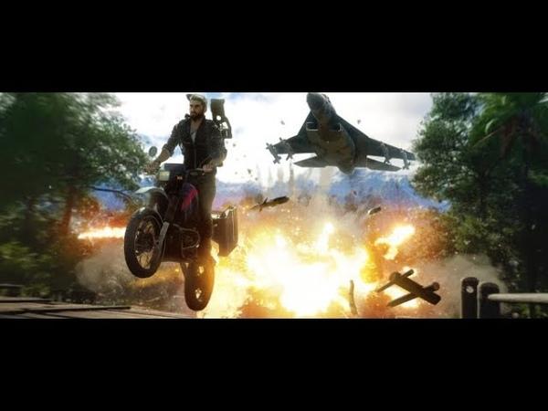 Just Cause 4 обзавелся 8 минутным видео, демонстрирующим стихийные бедствия на больших просторах игр