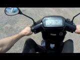 Обзор скутера Suzuki Address 100, в ОТС, без пробега по Р.Ф.