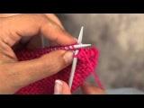 Вязание спицами: Урок 5 - Закрытие петель