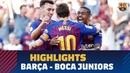 FC Barcelona – Boca Juniors (3-0) Gamper Trophy