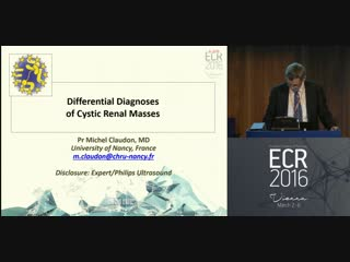 Differential diagnoses of cystic renal masses M. Claudon