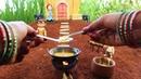 Miniature Ladoo   Ladoo Recipe   Miniature Cooking 25   Chota Bheem   Dholakpur   mini foodkey
