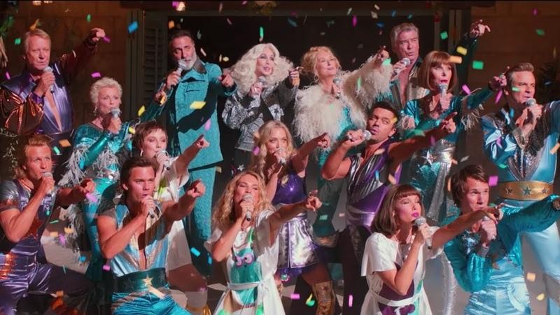 Cher Meryl Streep - Super Trouper (From Mamma Mia! Here We Go Again) | LYRICS