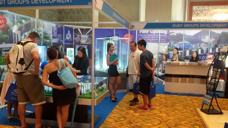 Dusit Groups приняла участие в выставке недвижимости Pattaya Property Show