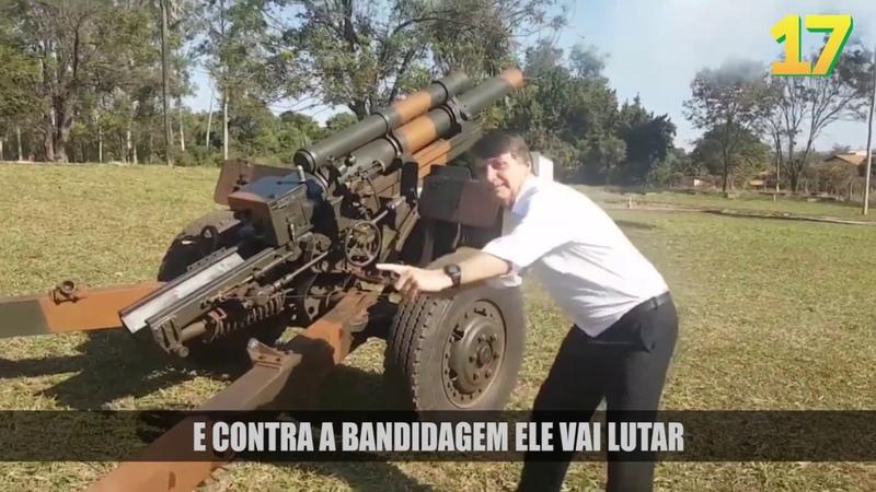 Cowboy Reaça - Bolsonaro Presidente 17