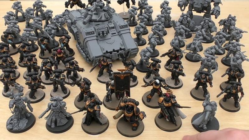 Primaris army so far (WH40K)