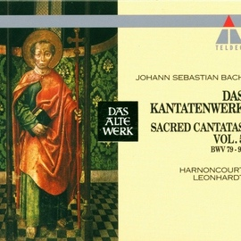 Nikolaus Harnoncourt альбом Bach, JS : Sacred Cantatas Vol.5 : BWV 79-99
