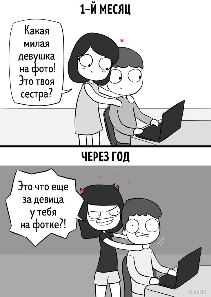 Комиксы 1 месяц/1 год