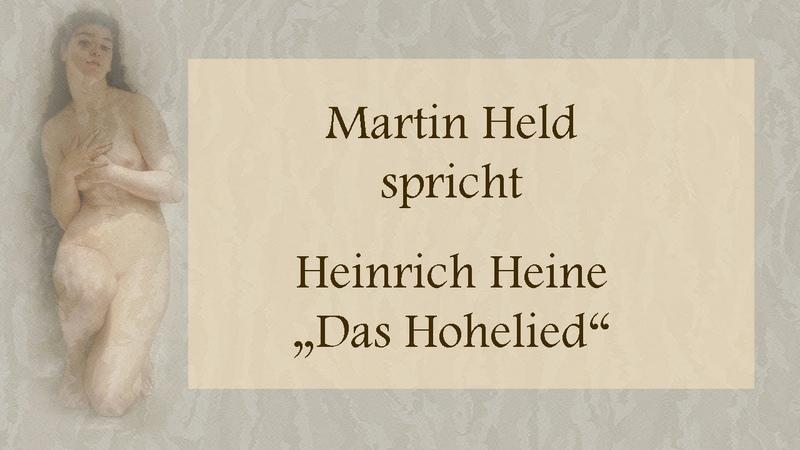 """Heinrich Heine """"Das Hohelied"""" II"""