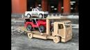 How to Make a Car Transporter Cardboard toy DIY