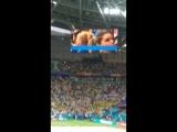 Как же охеренно Бразильцы поют гимн