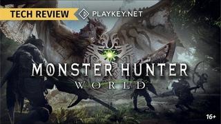 Monster Hunter: World на Playkey.net: охотимся на 60 fps в 1080p на максималках