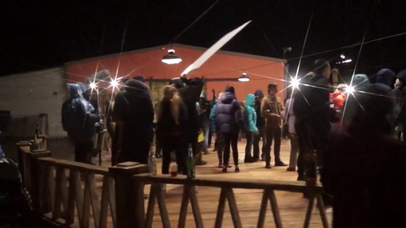 Съемки массовки для фильма Мысленный волк Валерии Гай Германики