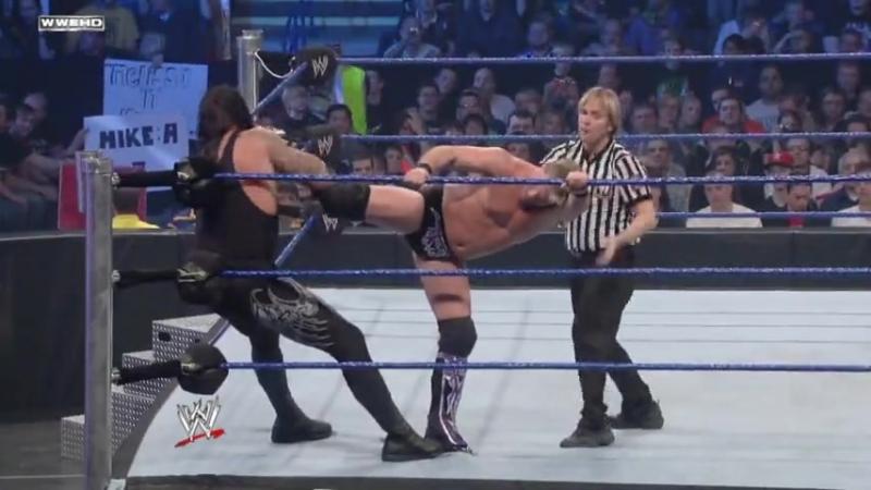 |WM| Крис Джерико против Гробовщика - Смекдаун 14.11.2009