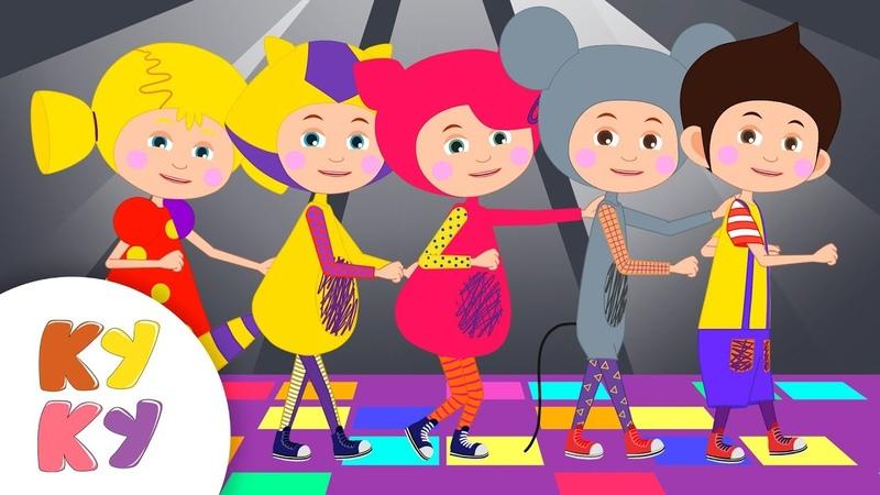 Сборник ДЕТСКАЯ ДИСКОТЕКА КУКУТИКИ Учимся танцевать под песни из мультфильмов