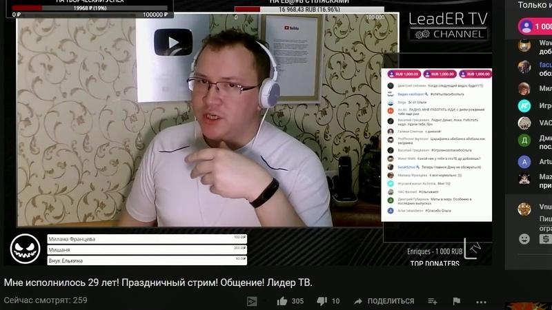 Denis LeadER TV о Биткоине 5000 и Внуке Елькина | bitcoin 5000