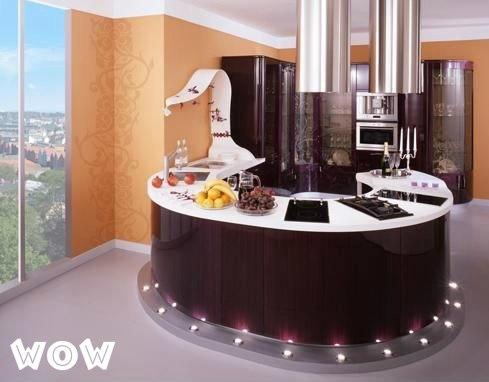 Интересная идея оформления кухни, креативные идеи для кухни