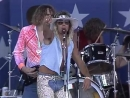 Vince Neil Smoking In the Boys Room Live at Farm Aid 1986
