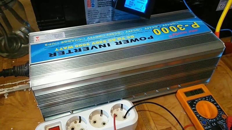 Inverter P3000 24v 30006000w, video for aliexpress disputes