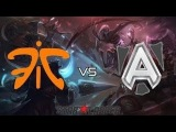 Alliance vs Fnatic Highlight @ Starladder 8 Lan Finals