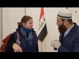 A press interview with a Russian structure called Katy with Sheikh Ali Mahmoud by magic and touching the genie Part I