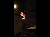 В Саранске горит общежитие МГУ имени Огарева