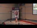 Выступление Лады на конкурсе чтецов Дело Чести.