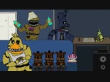 Five House Parties at Freddys (A Five Nights at Freddys 4 Animation)