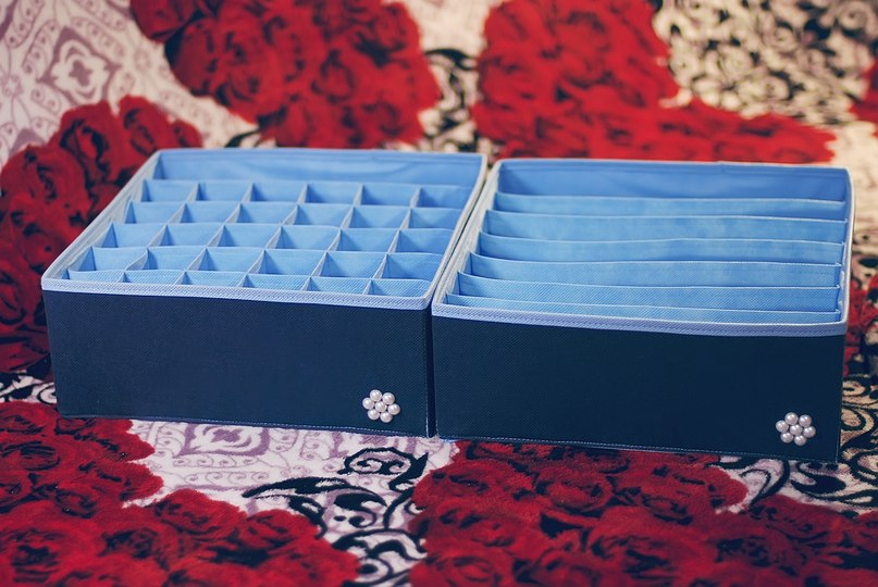 Как сделать органайзер для белья из коробки своими руками