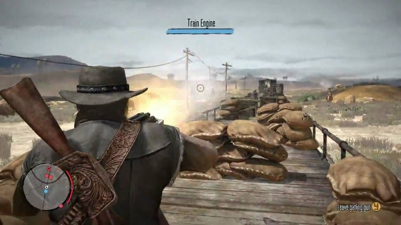 Red Dead Redemption Gameplay Video Series Weapons Death