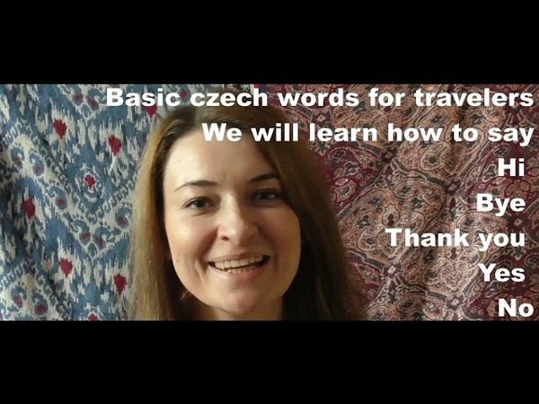 Basic Czech for tourist, part 1, useful, czech, phrases, Prague, language, greetings, in czech,