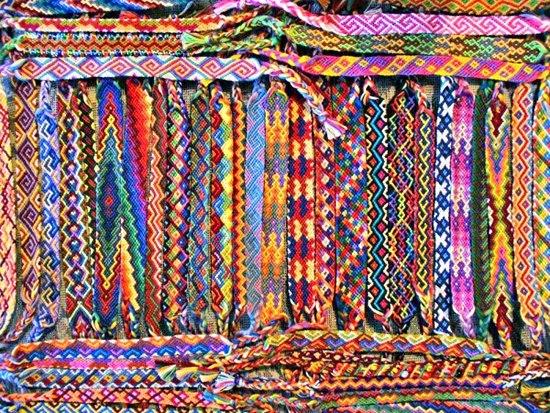 фенечки с узорами- 70 руб