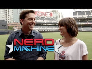 Ed Helms - Exclusive Interview - Nerd HQ (2013) HD - Alison Haislip