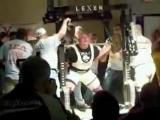 Мировой рекорд приседания - 567 кг (Влад Алхазов)
