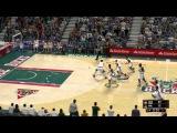Играем за OKC Thunder    Красивые и обычные голы    #NBA 2K13