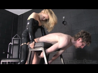 Mistress eleise de lacy - anal fuck toy [femdom, strapon, pissing, 720p]