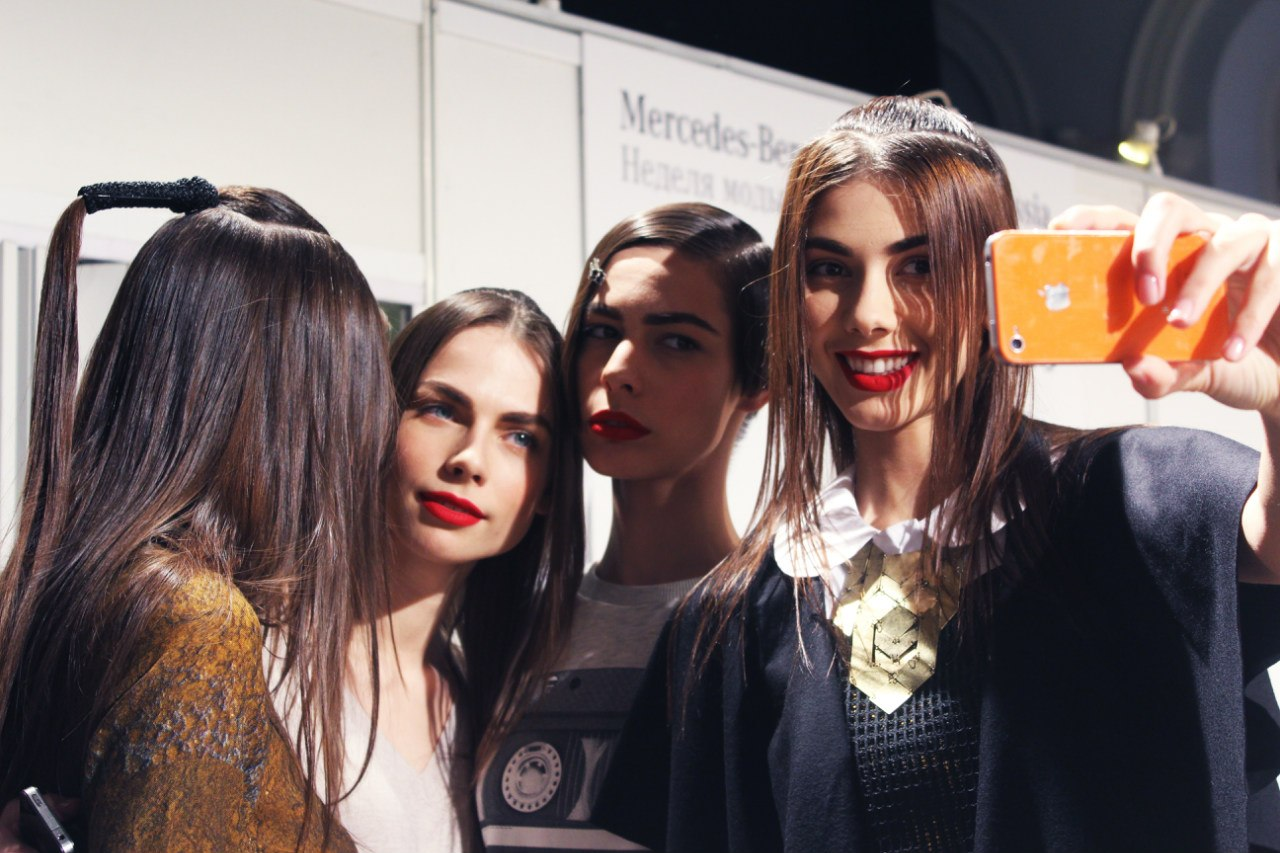 Backstage.The Muscovites by Masha Kravtsova FW 2013-14