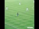 Дебютный гол за Барселону легендарного Роналдиньо🇧🇷👏 Отличный ассист от голкипера 👍