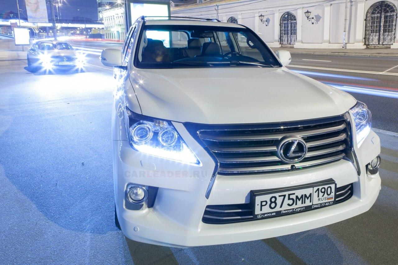 В заниженном состоянии Lexus LX 570 2012 понравится любителям JDM-спорткаров