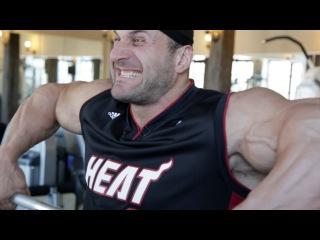 Тренировка плеч от Пааты Петриашвили.