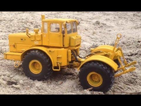 Радиоуправляемый трактор К-701