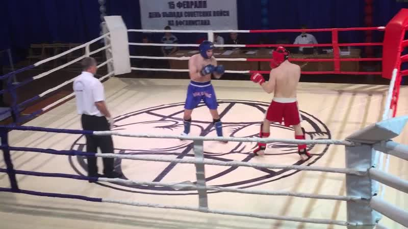 Тюрин Антон 2000 г. р. - Юдин Евгений 71 кг Полуфинал ЦФО, Липецк 16.02-2019